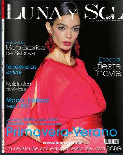 Revista Luna y Sol. Portada